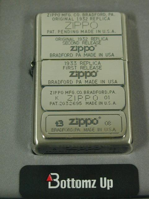 ジッポー限定Zippo ボトムズアップ1932・1933・1941両面BM-SB 新品